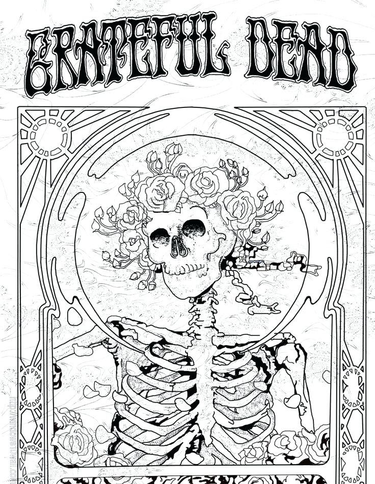grateful dead coloring pages 736x951 great exciting grateful dead coloring pages print coloring  grateful dead coloring pages