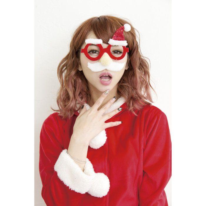 サンタコスチュームクリスマス衣装XMASメガネファンタジーサンタ盛り上げクリスマス業務用にも最適