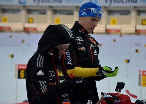 Simon Schempp and MIriam Goessner