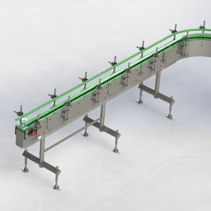 Traduco Conveying Systems, clean, simple, modular