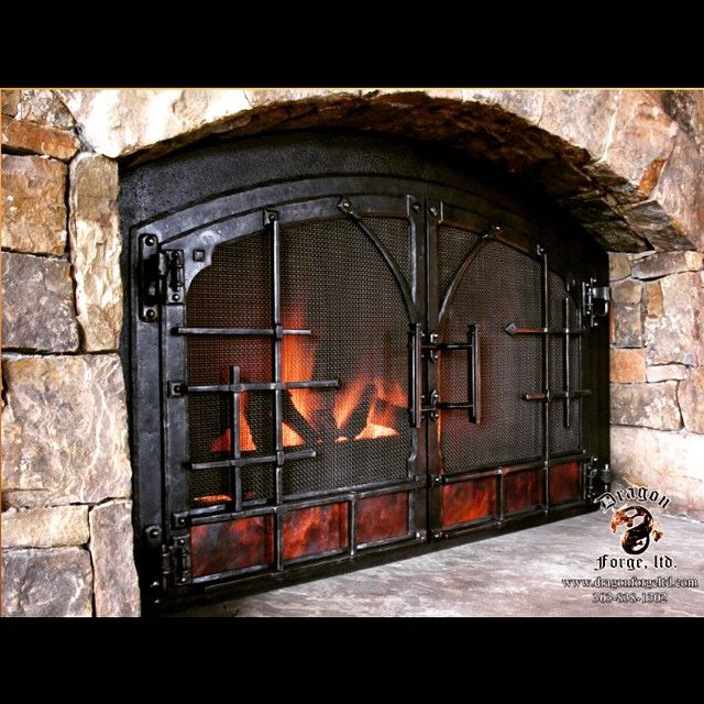 Fireplace Doors best 10+ fireplace doors ideas on pinterest | brass fireplace