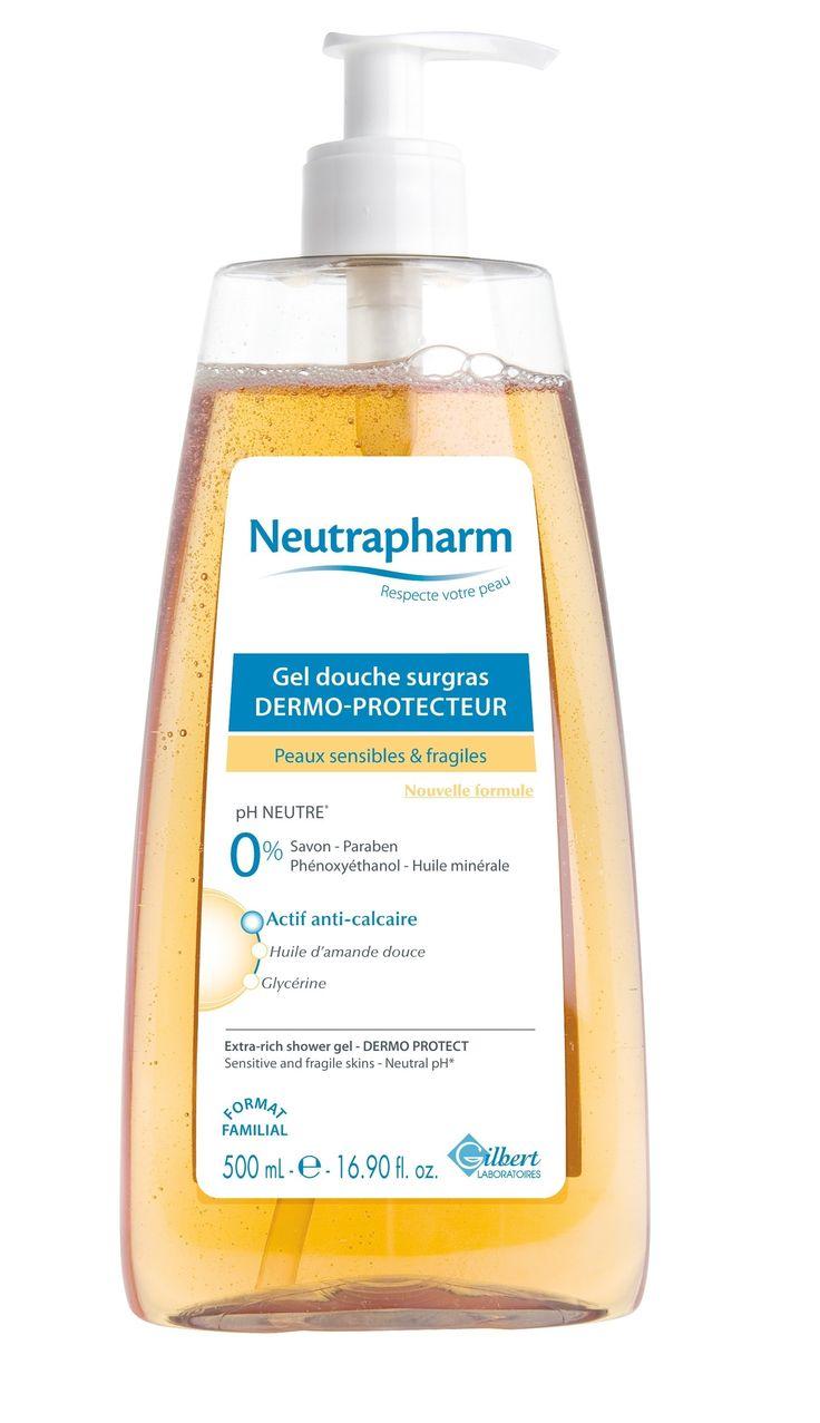 Neutrapharm Gel Douche Surgras Dermo-protecteur 500ml