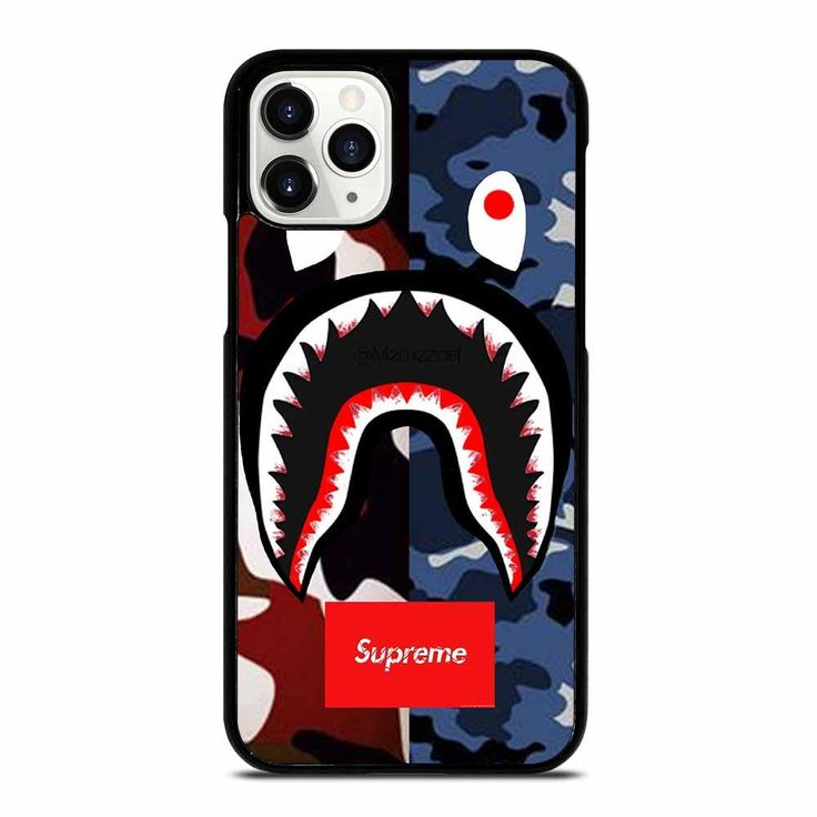 Bape camo supreme new iphone 11 pro case new iphone