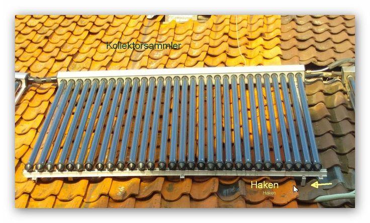 Solaranlage Eigenbau
