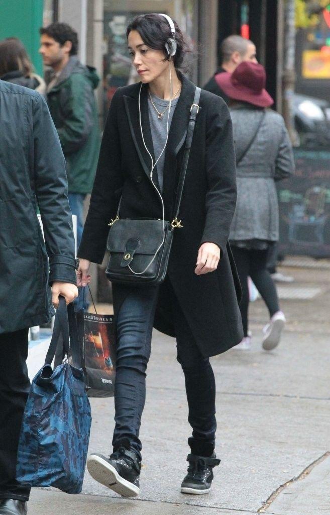 Sandrine Holt Photos: Sandrine Holt Takes a Stroll in NYC
