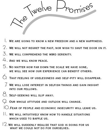 Worksheets Al Anon 12 Steps Worksheets 20 best images about recovery step work on pinterest wall the twelve promises need to print this out