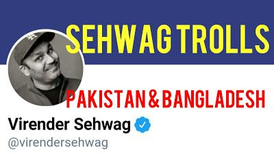 Indian sports Channel: sehwag troll pakistan cricket  team and bangladesh...