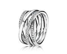 Silver ring with cubic zirconia- new autumn! www.melodysqualityjewelry.com