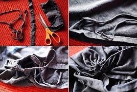 Riciclo Creativo: Come fare una borsa per la spesa con una maglietta riciclata