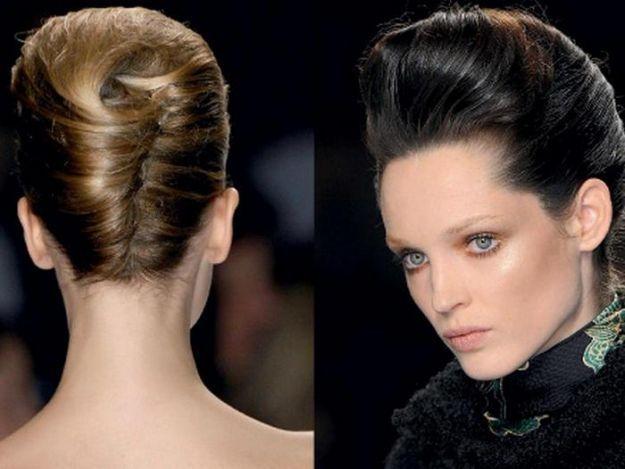 Элегантная прическа ракушка ::: onelady.ru ::: #hair #hairs #hairstyle #hairstyles