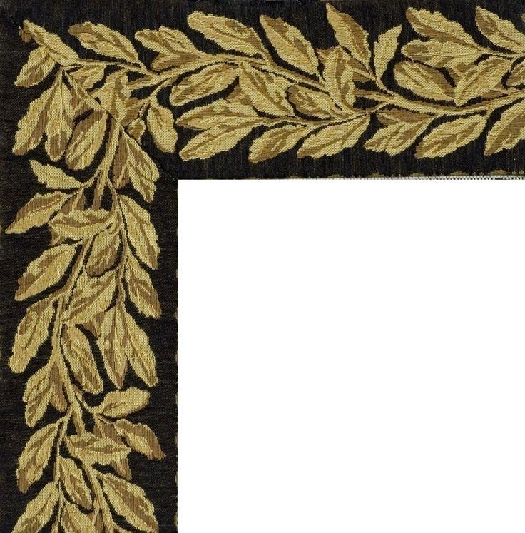 Woven Tapestry Rug Borders- 109 Golden Leaf | Davis living