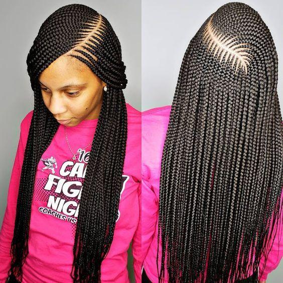6 packs Colorful Senegalese Twist Crochet Box Braids Hair