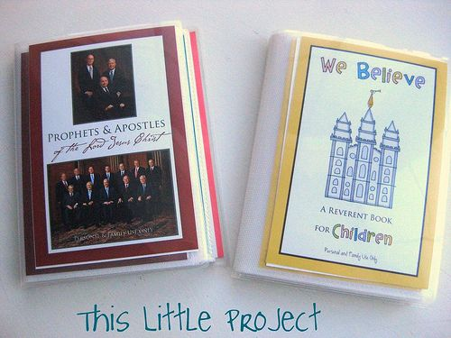 5 Free quiet book printables- print as photos and put in dollar store photo albums.