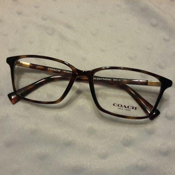 b8bdd702b080 Coach Eyeglass Frames Women's Coach brand eyeglass frames for prescription  glasses. Coach HC 6077 Eyeglasses 5120 Dark Tortoise color …