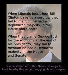 Being Conservative's photo:  Obama has actually made me MISS Clinton! How sad is that?