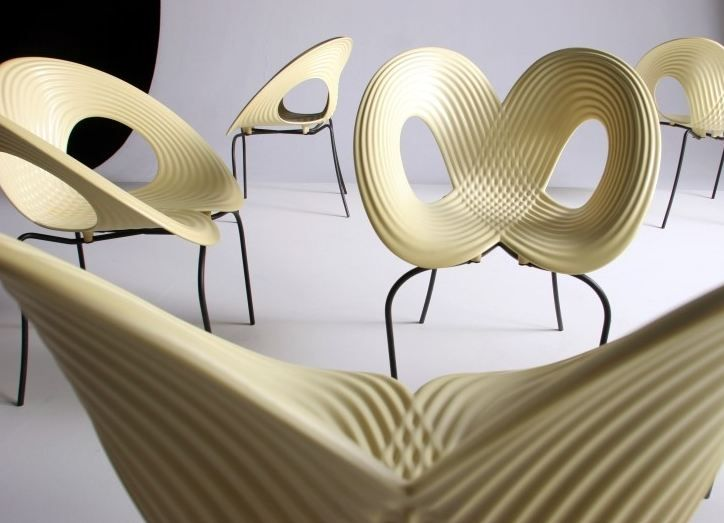 Perfekt This Figure 8 Design Chair Looks Very Comfortable, I Like The Ripple Texture