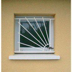 Grille de défense pour fenêtre, série Soleil, Haut. 65 x larg. 70 cm