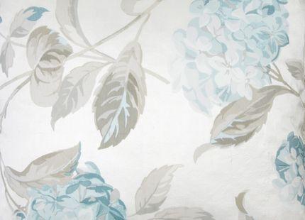 Hydrangea Print Duck Egg Cushion | Laura Ashley