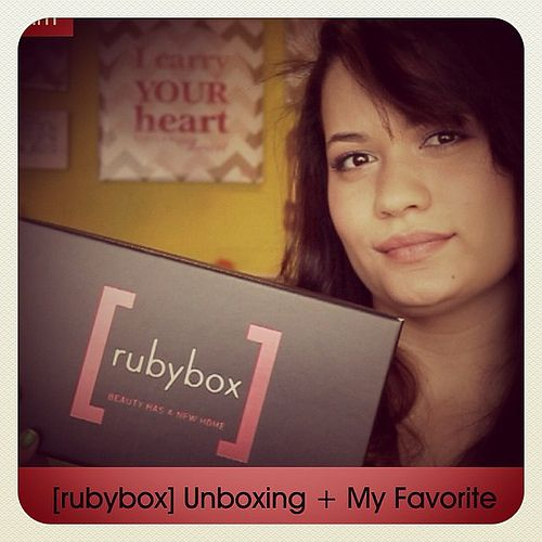 Ruybox Unboxing + My Favorite {Beauty}