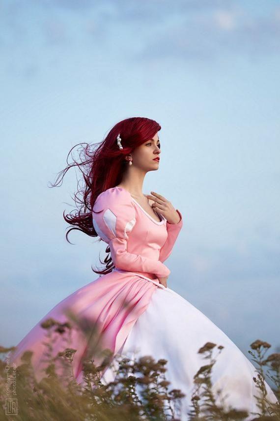 Ariel The Little Mermaid Cosplay Print - Etsy - Cosplay de la sirenita, Ariel la sirenita ...