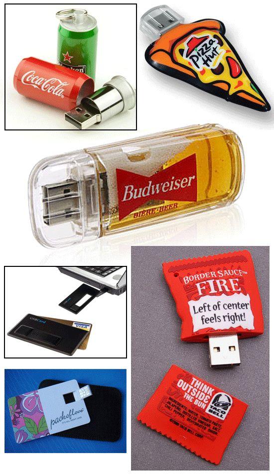Fast Food USB Drives