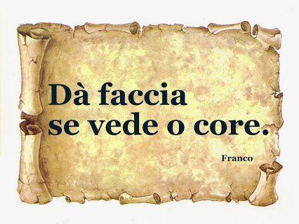 L'espressione del viso spesso è lo specchio dell'anima.