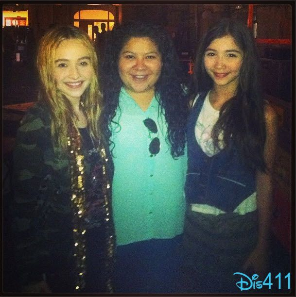 """Dis411 Raini Rodriguez Welcomes """"Girl Meets World"""" Cast To The Disney Channel Family"""