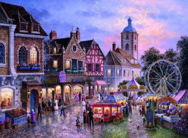 Puzzle 3000 mcx - Parc d'attractions - Castello | Jeux et Jouets