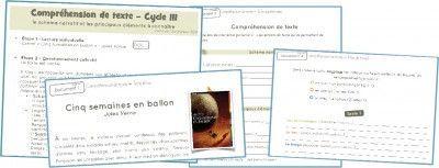 [Lecture] Compréhension de texte – Cycle 3   ma classe mon école - cycle 3 - CE2 CM1 CM2 - Orphys