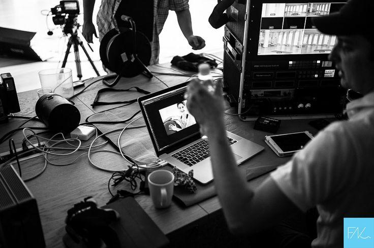 Andrzej rezyseruje. FNQ nagrywany na najnowszym w Polsce sprzecie Blackmagic 4K