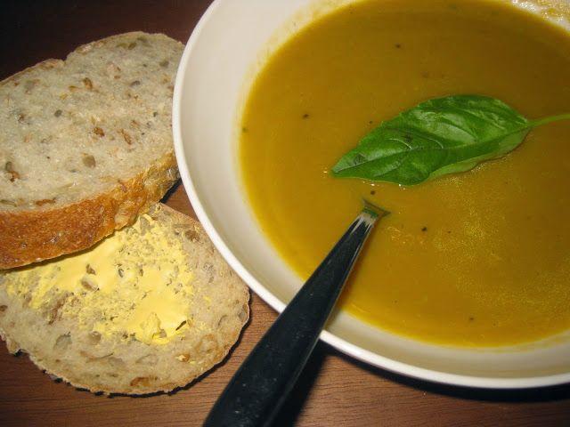 Asparagus and Sweet Potato Soup
