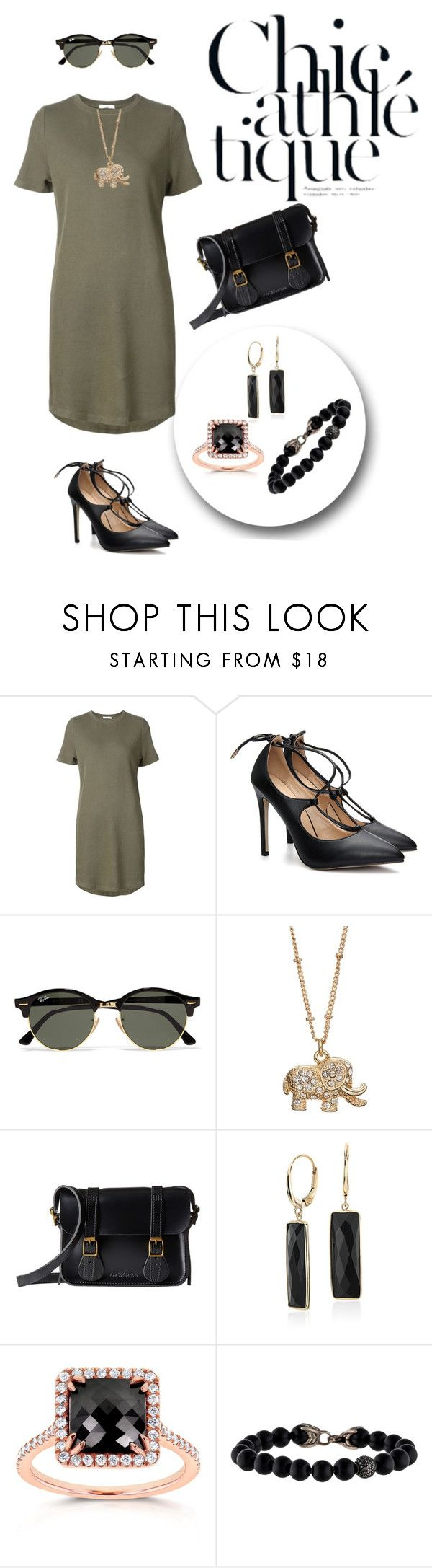 """""""Untitled #1902"""" by swc0509 ❤ liked on Polyvore featuring 321, Ray-Ban, LC Lauren Conrad, Dr. Martens, Blue Nile, Kobelli and David Yurman"""