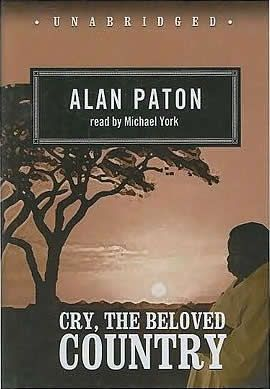 an analysis of the novel cry the beloved country by alan patons A worldwide bestseller when it was first published in 1948, alan patons impassioned novel about a black mans country under white mans law is a work of searing.