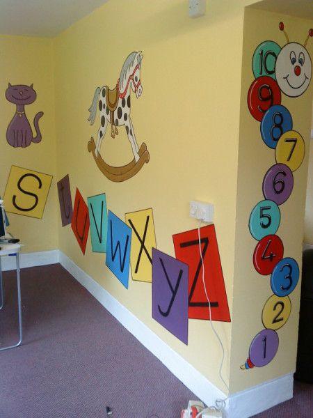 Bishops Tawton Playgroup Murals