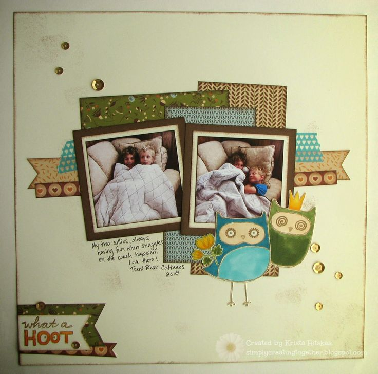 Simply Creating: CTMH Stamp-of-the-Month Blog Hop: What a Hoot! - Pathfinding