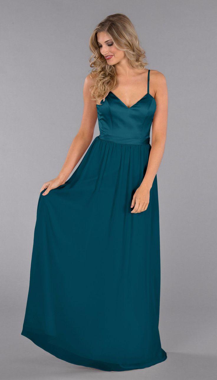 349 best chiffon bridesmaid dresses images on pinterest abigail dusty blue bridesmaid dressesblue dresseslong dressesperiwinkle ombrellifo Images