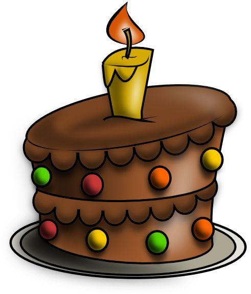Birthday Cake Drawing | Free Birthday Cake 2 Clip Art