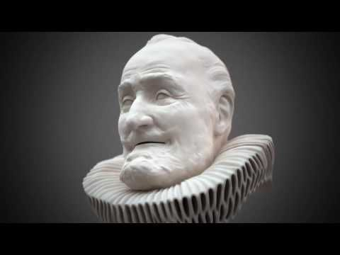 Incredible 3D Forensic facial reconstruction