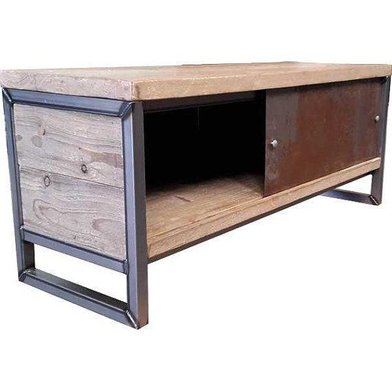 Industrial Tv Stand By Innovationcreationuk On Etsy For