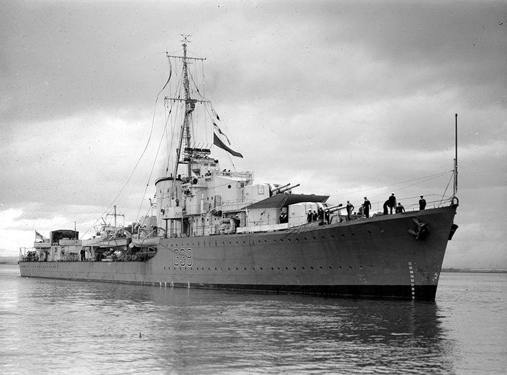 HMAS Nizam was an N-class destroyer of the Royal Australian Navy.