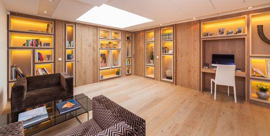 biblioteca, interiorismo, decoración, diseño, lujo, estantería, vivienda,