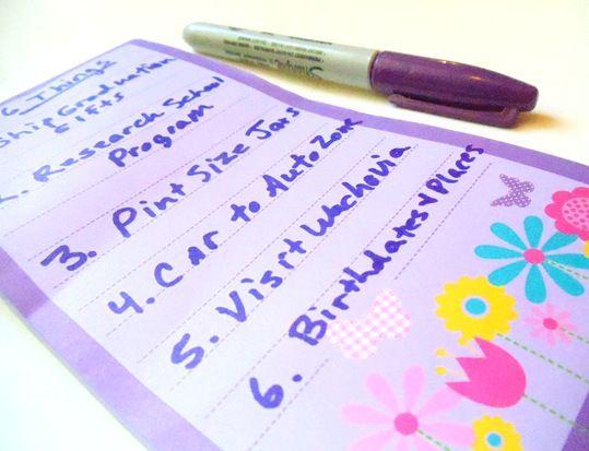 six things a day!: Ideas, Misfit Pins, Life, Help Organize, List, Mind