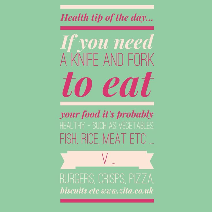 Simple way to know how #healthy your #food is #diet #weightloss #nutrition #Zita