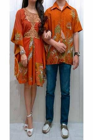 Busana batik Tanah abang - Set Couple batik FD1186