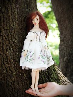 Kissed by the sun. Handmade OOAK doll by Romantic Wonders