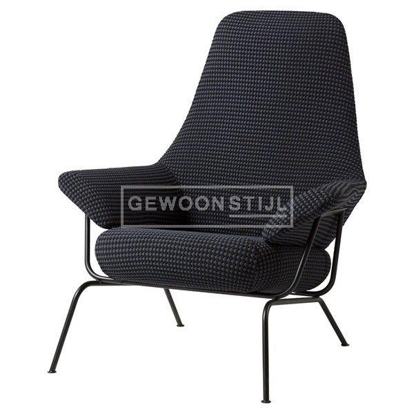 Hem-design   Hai Lounge Chair   Mosaic   Fauteuils   Scandinavische Design   Zwart