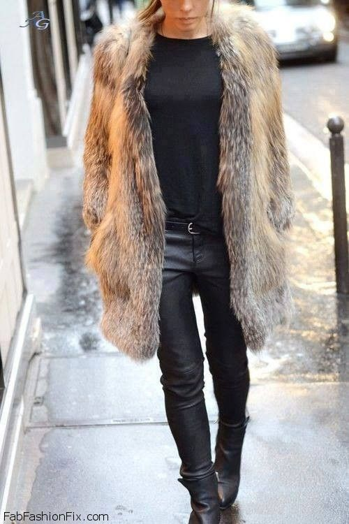 Fabulous fur coat I love faux fur
