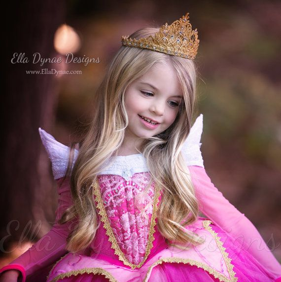 Sleeping Beauty Aurora Costume Pink Blue Dress por EllaDynae