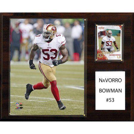 C Collectables NFL 12x15 NaVorro Bowman San Francisco 49ers Player Plaque