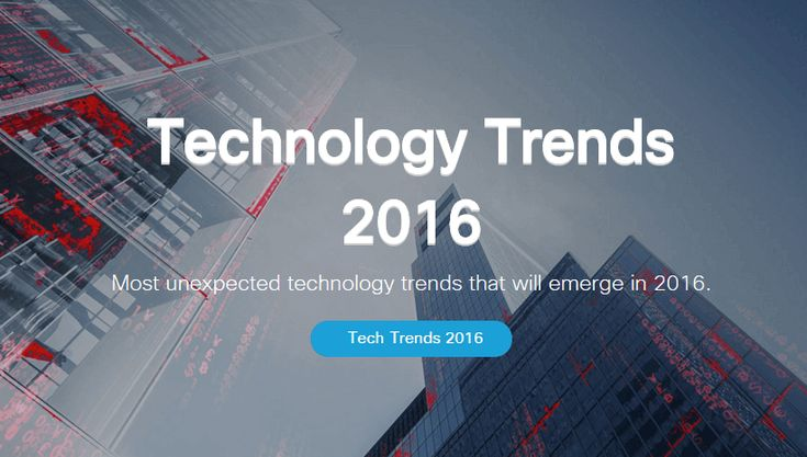Unexpected Technology Trends That will Emerge in 2016 #technology #trendingtechnology